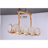 后现代轻奢客厅吊灯餐厅灯具北欧艺术吊灯LED灯 可定制