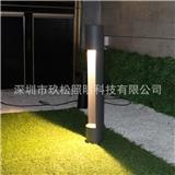 户外LED草坪灯/LED圆柱月牙草坪灯/花园别苏高档社区草地照明灯具