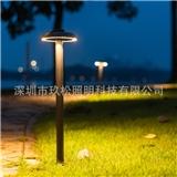 跨境专供LED室外草坪灯 新款锅盖头草坪灯 7W高档花园别墅草地灯