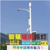 定制多功能智慧路灯监控充电广告发布一键报警WIFI广播环境监测