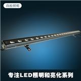 批发户外LED洗墙灯 18W24W防水桥梁灯 七彩户外洗墙灯LED轮廓灯