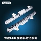 厂家批发户外LED洗墙灯 18W防水桥梁灯 七彩户外线条灯LED轮廓灯