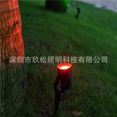户外LED地插灯城市圆林景观照明亮化灯具