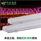 厂家直销 LED护栏管 PC罩12WLED护栏管户外桥梁会所楼体外墙led灯