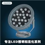 LED圆形投射灯9W12W15W18W24W户外防水投光灯工程照树灯聚光灯