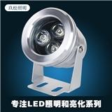 LED投射灯3W投光灯工程灯庭院灯聚光灯景观灯小射灯户外室外防水