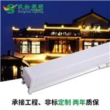 厂家直销 方形LED轮廓灯厚款 铝型材+半PC轮廓灯楼体外墙户外