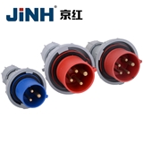 防护等级IP67工业插头插座 LEE工业插头插座连接器