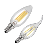 爱迪生led灯泡C35复古仿钨丝灯护眼暖白黄光