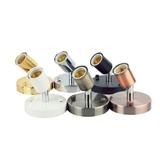 E27金属复古万向灯座180度转向耐高温陶瓷灯头灯饰灯具配件