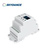 景晴光电四进四出LED控制器 0-10v控制器 1-10V信号输入PWM解码器LED调光器 V4-D