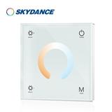 景晴光电RGBW触摸面板控制器 无线触摸控制 DMX512解码器灯条灯带灯具控制器 断电记忆功能T2
