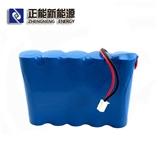 厂家定制5并 纯三元 3.7V18650 10000mAh锂电池组 应急灯锂电池组