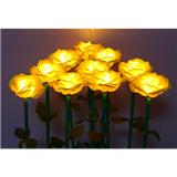 玫瑰形芦苇灯/塑料玫瑰花芦苇灯/玫瑰花插地灯/led芦苇灯