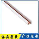 阻燃PVC塑料导轨条 全新紫铜嵌入式取电轨道条 PC磁吸式导电轨道条 铜塑共挤轨道条
