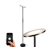 恩德森灯饰跨境电商落地灯亚马逊现代LED落地灯遥控触摸朝天灯