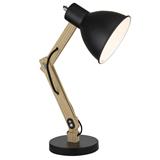 直销北欧现代创意实木USB工作台灯书房宿舍台灯卧室床头灯