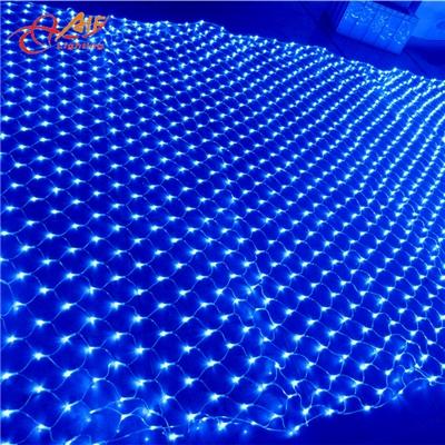 亮化工程用1230米24000灯户外防水LED大型网灯
