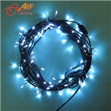 厂家直销220V10米100灯防水LED节日星星灯串
