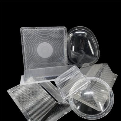 灯具光学塑胶件 CANOPY miniwallpack罩子 路灯外壳 北美标定制