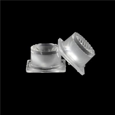 3030灯珠灯箱侧光源透镜 广告灯 洗墙灯 侧发光防水透镜 水波纹防水透镜