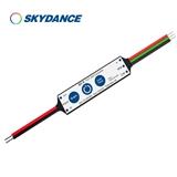 景晴2路2A 12-24VDC三键迷你色温控制器 Q2-S