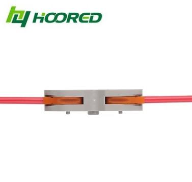 SPL-1快速连接器 PCT211并联无限拼接 阻燃绝缘大电流 尼龙/透明