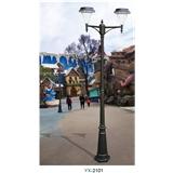 YX-2101 新款户外光控太阳能灯庭院灯防水遥控太阳能灯爆款庭院公园广场家用照明灯厂家直销生产批发