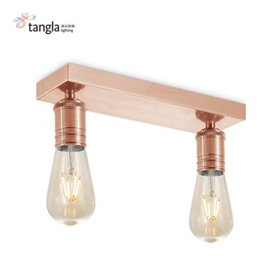 metal square ceiling lamp